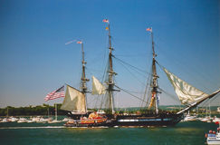 Boston parade of sail. Stock Photo