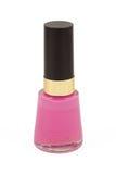 Bottle of nail varnish Royalty Free Stock Photography