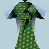 Bound collar tie a  node Stock Photography