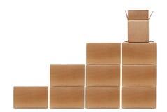 Boxes Stacked Stock Photos