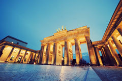 Brandenburg Gate, Berlin, Germany Royalty Free Stock Images