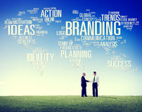 Branding World Global Marketing Identity Individuality Concept Royalty Free Stock Photos