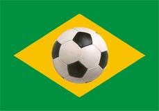 Brazil flag World Cup 2014 Royalty Free Stock Photos