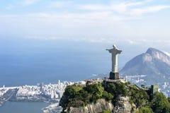 brazil odkupiciel Christ De Janeiro Rio Obraz Royalty Free