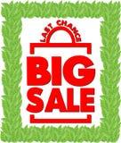Bright Poster Big sale. Last chance Stock Photos