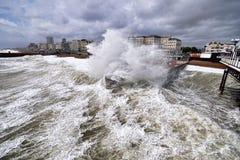 Brighton storm Royalty Free Stock Image