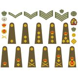 British Army insignia Royalty Free Stock Image