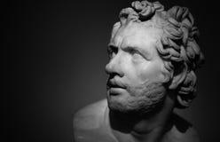 British museum bust Royalty Free Stock Photo