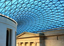 British museum roof. Royalty Free Stock Photos
