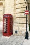 British telephone red cabin Stock Image
