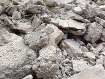 Broken concrete Royalty Free Stock Image