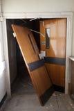 Broken door Stock Photography