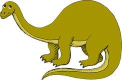 Brontosaurus Stock Photo