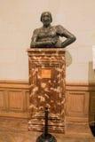 Bronze Bust Chambord Castle France Stock Photo