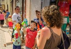 The Bubble Parade 2015 Stock Photos