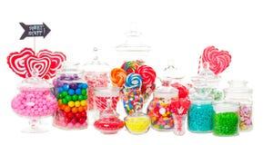 Buffet de sucrerie Photo libre de droits
