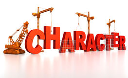 Building Character Royalty Free Stock Images