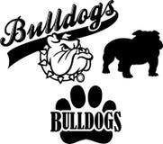 Bulldog Team Mascot/eps Stock Photography