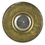 Bullet Shell casing bottom Stock Photo