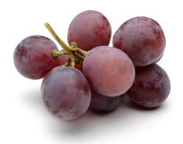 A bunch of red grapes Royalty Free Stock Image