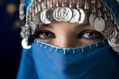 Burka Imagem de Stock