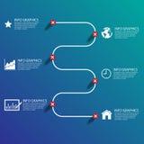 Business chart success ,Illustration eps 10 Stock Image