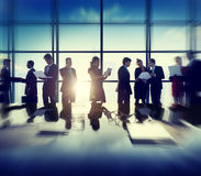 Business Corporate People Digital Devices Meeting Concept Stock Images