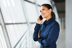 Business executive call Royalty Free Stock Image