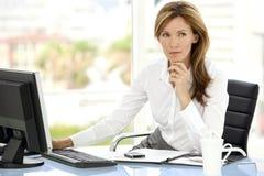 Business executive woman Stock Photo