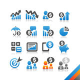 Business Finance icon  - Simplicity Series Stock Images
