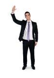Business man wave hand Stock Photos