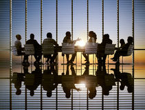 Business Meeting Sun Professional Strategy Concepts Royalty Free Stock Photography