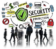 Business Office Worker People Security Protection Concept Stock Images