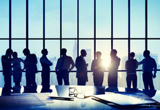 Business People Conference Meeting Boardroom Working Concept Stock Photo