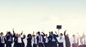 Business People Corporate Celebration Success Concept Stock Images