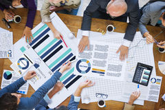 Business People Meeting Corporate Analysis Research Concept Stock Photos