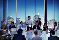 Business People Meeting Corporate Presentation Office Working Co Stock Photos