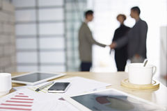 Business people meeting in office Royalty Free Stock Photos
