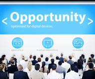 Business People Opportunity Web Design Concepts Royalty Free Stock Images