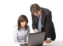 Business people working Royalty Free Stock Photo