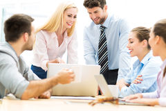 Business people working in an office Stock Photography