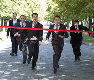 Business race Royalty Free Stock Photos