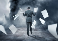 Business Storm Royalty Free Stock Photo