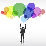 Businessman Corporate Creativity Ideas Innovation Concept Royalty Free Stock Photography