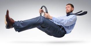 Businessman driver Royalty Free Stock Photo