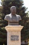Bust Bobojan Gafurov. Tajikistan, Dushanbe Royalty Free Stock Photography