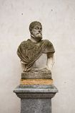 Bust of Spanish king Philip II in Alcazar castle, Segovia Royalty Free Stock Photography