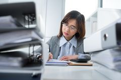 Busy bookkeeper Stock Photography