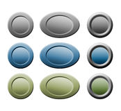 Buttons for web Stock Photography