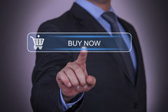 Buy Now on Touch Screen Stock Photography